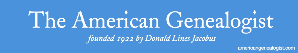 The American Genealogist